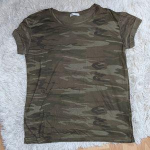 Camo Tee Shirt